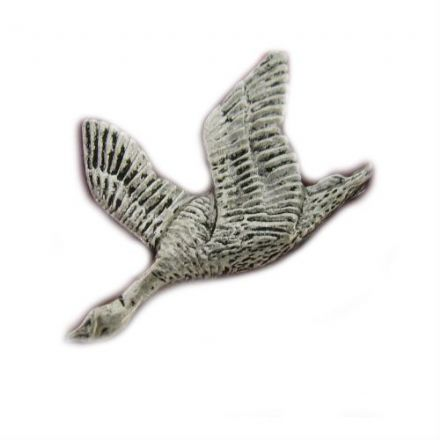 Goose Pewter Pin Badge